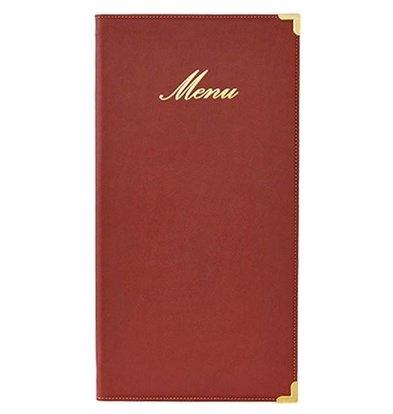 Securit Menu folder Classic - Wine - LONG