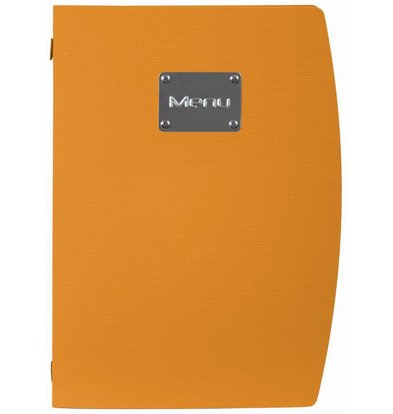 Securit Menu Rio - Orange A4 - ECO FRIENDLY