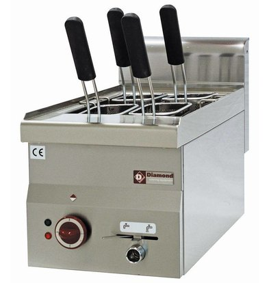 Diamond Pasta Cooker Electric SS | 14 Liter | tabletop | 230 | 245x370x190mm
