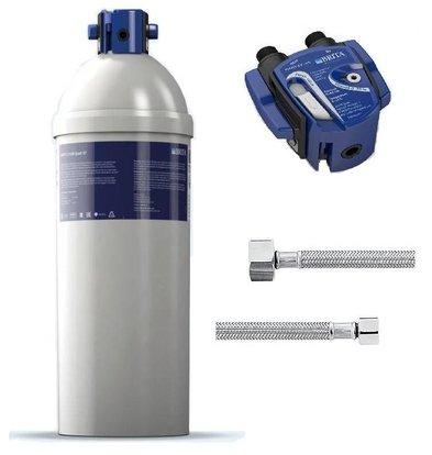 Brita Purity C1100 Quell ST   voor IJsblokjesmachines > 40kg   Complete Set: Filterpatroon + Filterkop + 2 Aansluitslangen