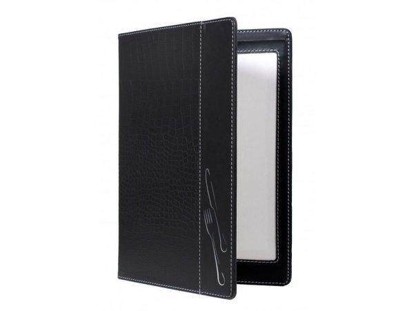 Securit Menu folder Design - Crocodile A4