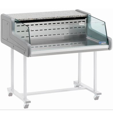 Diamond Vitrine Toonbank | Gekoeld  +4°C / +6°C | Self-Service | 1000x930x(H)345mm