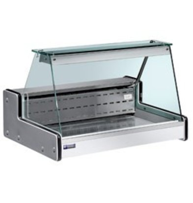 Diamond Counter display case | Chilled + 4 ° / + 6 ° | 1500x750x (H) 650mm