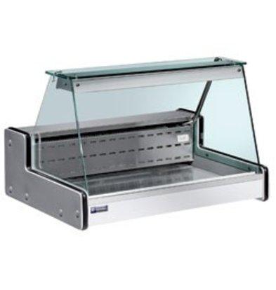 Diamond Vitrine Toonbank | Gekoeld  +4° / +6° | 1500x750x(H)650mm