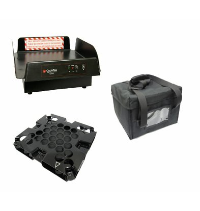 CookTek CookTek ThermaCube Delivery System Tall | Complete Set: Bag + Drive + Charging Station