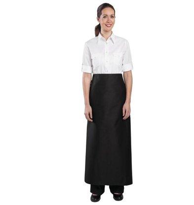 Whites Chefs Clothing Bistro Horeca Sloof / Kokssloof -100x100cm - Beschikbaar in twee kleuren - Unisex