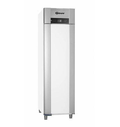 Gram Koelkast Wit/RVS | Gram Superior Euro M 62 LCG L2 4S | 465L | 620x855x2125(h)mm