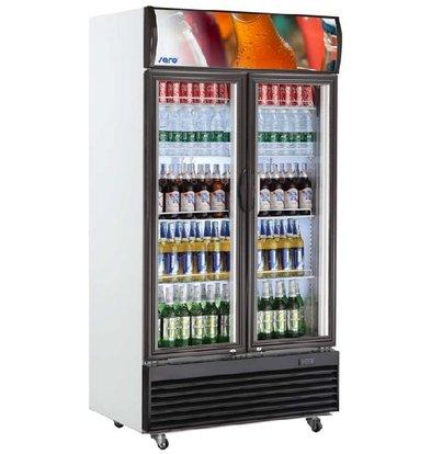 Saro Ventilated refrigerated display case   GTK Model 800 Liter   1000x730x2036 (h) mm