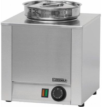 Casselin Hot Pot | RVS | Bain Marie | 4,5 Liter | 300x300x(H)350mm