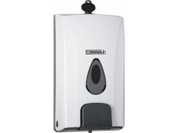 Casselin Zeepdispenser Universeel - 120x100x(h)223mm - 1000ml - BEST GETEST!