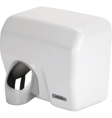 Casselin Hand Dryer White Steel swivel head | 12-15 seconds | 2500W