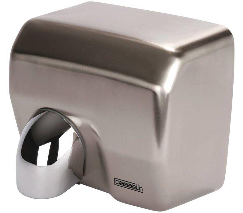 Casselin Handdroger RVS met draaibare kop | 12-15 seconden | 2500W