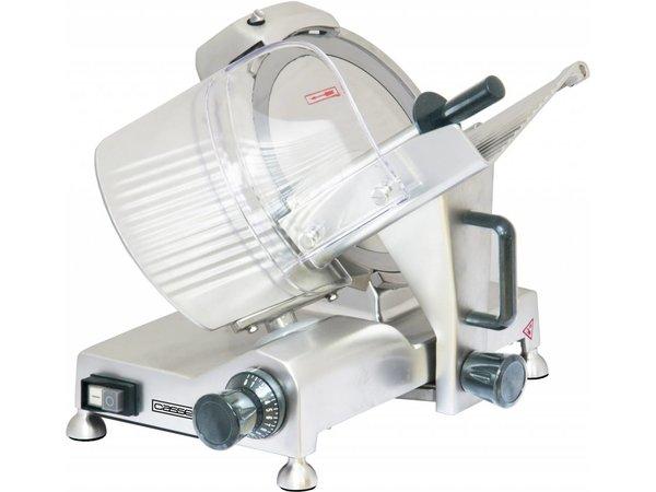 Casselin Vleessnijmachine | 230V | 150W | Ø250mm |  485x400x(H)355mm
