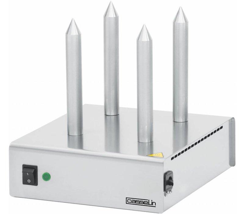 Casselin Brood Verwarmer - RVS - Met 4 staven - 260x300x(H)290 mm