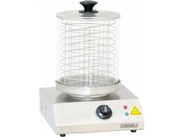 Casselin Worstenwarmer - RVS - 800W - tot 100°C - 280x280(H)355mm