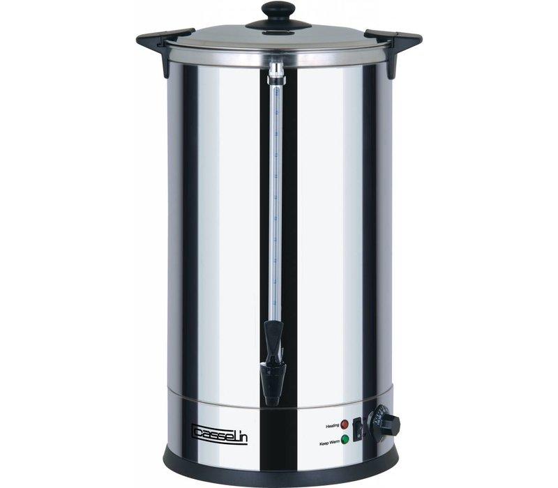 Casselin Heetwaterdispenser | dubbelwandig | Non-Drip Tapkraan | Ø318mm | 30 Liter