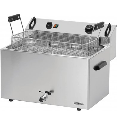 Casselin fryer | electric | Cold Zone | Bakery Fish and Oliebollen | 16 liters | 400V | 9kW | 540x450x (H) 370mm