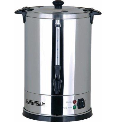 Casselin Percolator Dubbelwandig RVS | Geen Filters Nodig | Ø270x(H)440mm | 100-110 Kopjes | 15 Liter
