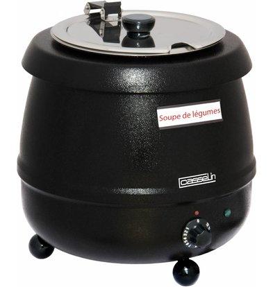 Casselin Electric Soup Kettle - Stainless steel - 9 liters