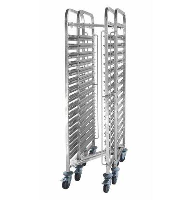 Hendi Regaalwagen Compact Storage | 15x GN1 / 1 | 1700 (h) mm | Delivered disassembled