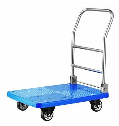 Hendi Platform Wagen tot 150kG | 730x480x890(h)mm