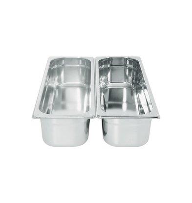 Hendi Gastronorm Bak 2/4 - 20mm | 1,2 Liter