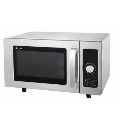 Hendi Microwave Analog   25 Liter   1500W   511x432x311 (h) mm