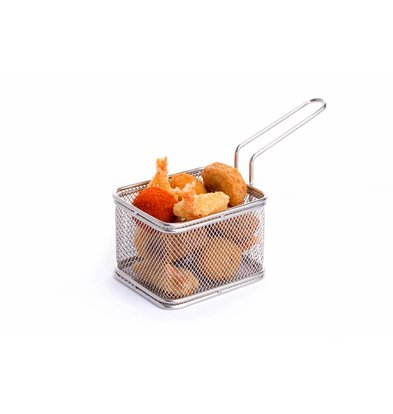 Hendi Presentation Fries Basket | 100x80x65 (h) mm