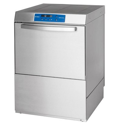 XXLselect Dishwasher Power | DIGITAL | 50x50cm | Naglans + Soap dispenser + Drain pump + Water pressure pump | 400V | MADE IN EUROPE