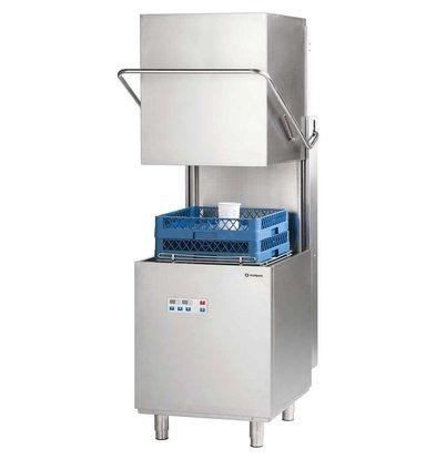 XXLselect Doorschuifvaatwasser Power Digital | 50x50cm | Naglans+ Zeepdispenser + Afvoerpomp | 400V