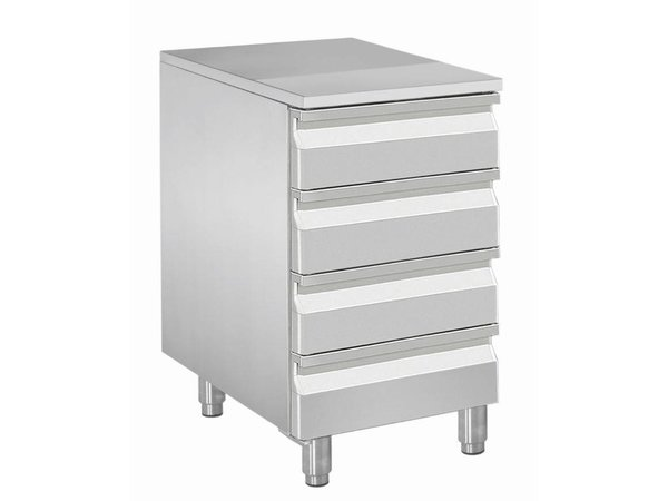Diamond Cabinet for dough balls - 4 drawers