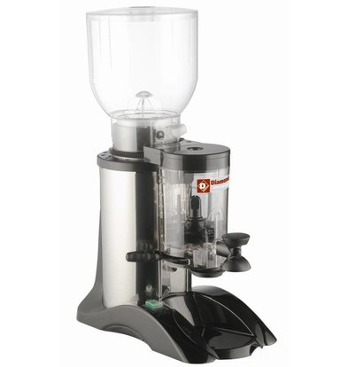 Diamond Coffee grinder with doser | Contents 2 kg | 0,36kW | 210x355x (H) 650mm