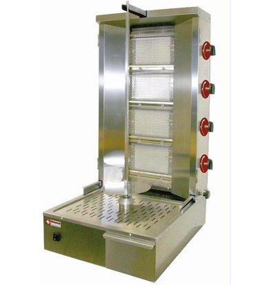 Diamond Kebab spit grill gas 55 kg