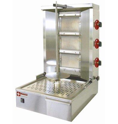 Diamond Kebab spit grill gas 35 kg