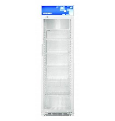 Liebherr Display Koelkast Wit met Glazen Deur | Liebherr | 411 Liter | FKDv 4213 | 600x687x(H)2010mm