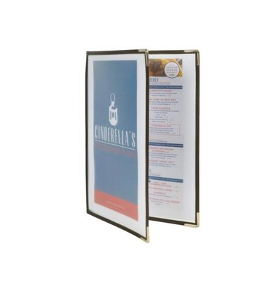 Securit Menukaart Crystal A4 - Dubbel - Per 3 stuks