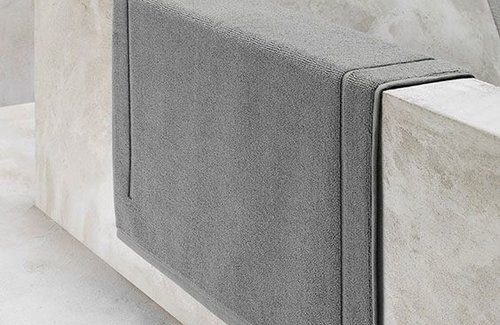 De Witte Lietaer Badmat Excellence Grey