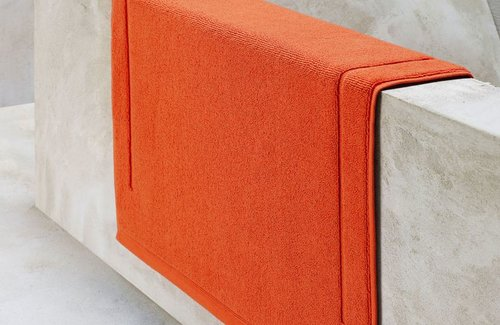 De Witte Lietaer Badematte Excellence Burnt Orange