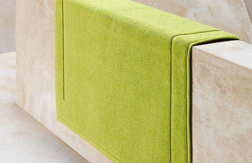 De Witte Lietaer Badmat Excellence Lime Green