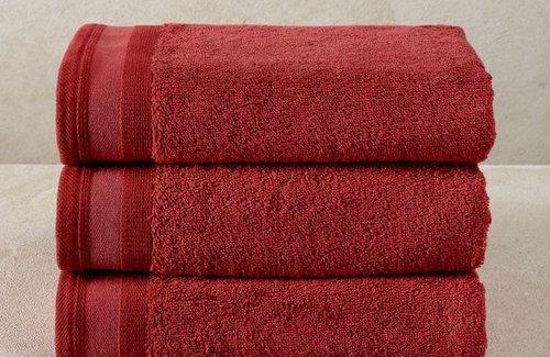 De Witte Lietaer Excellence Badewäsche Brick dk Red