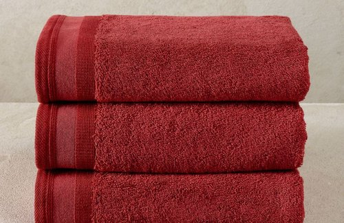 De Witte Lietaer Excellence Badlinnen Brick dk Red