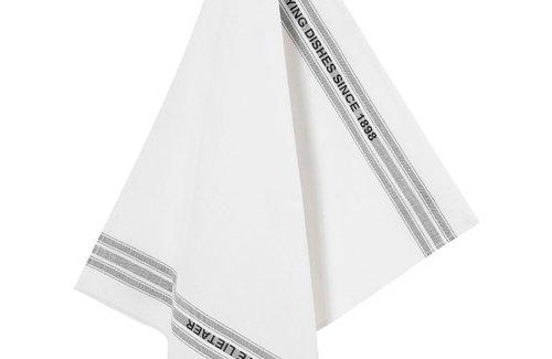 De Witte Lietaer Theedoek Dish 65x70 Black