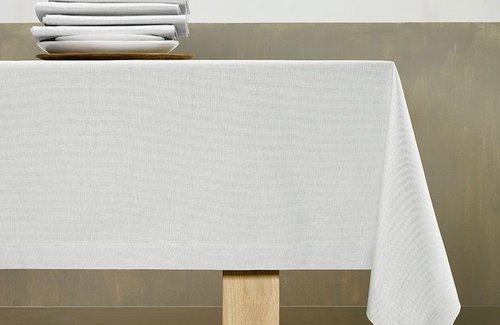 De Witte Lietaer Lambda Tafellinnen Silver Grey