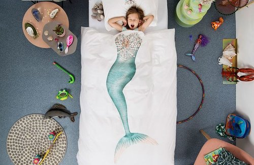 SNURK Mermaid Bettwäsche