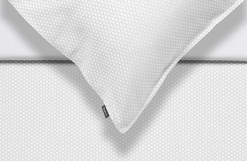 Vandyck Dekbedovertrek Purity 80 Jacquard White
