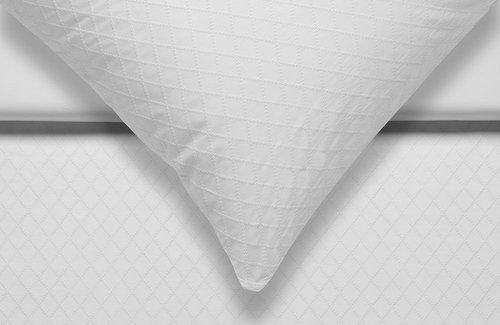 Vandyck Dekbedovertrek Purity 95 Embroidered Diamond 240x200/220