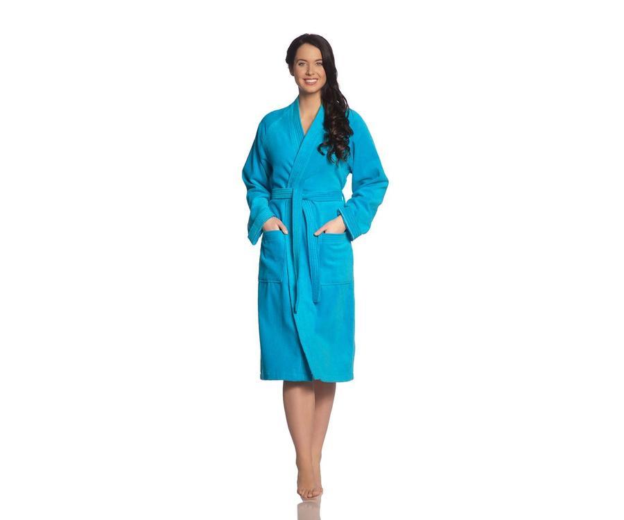 f7f13db3fd1 Vossen Badjas Dallas Turquoise - LINNENMODE