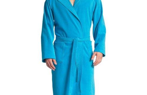 Vossen Bademantel Texas Turquoise