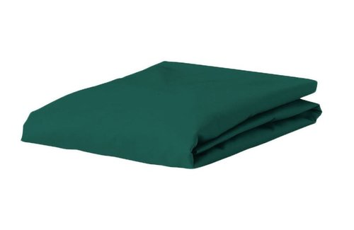 Essenza Satin Hoeslaken Pine Green