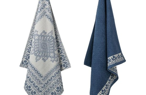 Elias Keukenset Tile Blue